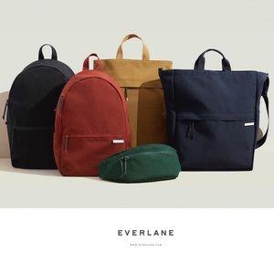 Everlane Black Street Nylon Zip Backpack